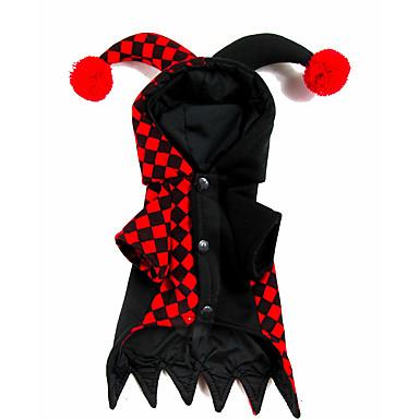 Câine Costume Crăciun Îmbrăcăminte Câini Desene Animate Terilenă Costume Pentru animale de companie Keep Warm