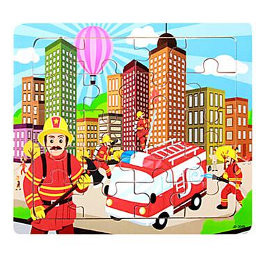 Legpuzzel Speeltjes Huis Vrachtwagen Cartoon Ovaal cartoon Shaped Niet gespecificeerd Stuks
