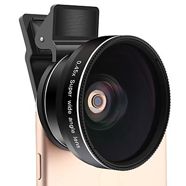 Xihama telefon mobil 0.45x obiectiv cu unghi larg 12.5x macro lentilă din aliaj de aluminiu de sticlă 52mm pentru telefonul mobil Android