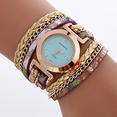 Damen Kinder Modeuhr Armbanduhr Armband-Uhr Einzigartige kreative Uhr Armbanduhren für den Alltag Chinesisch Quartz Wasserdicht PU Band