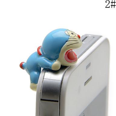 anti-praf plug de război de desene animate de jucărie jucărie rășină telefon mobil farmecul