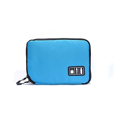 Geantă Călătorie Organizator Bagaj de Călătorie Portabil pentru Haine Cablu USB Haină oxford 24*16*2