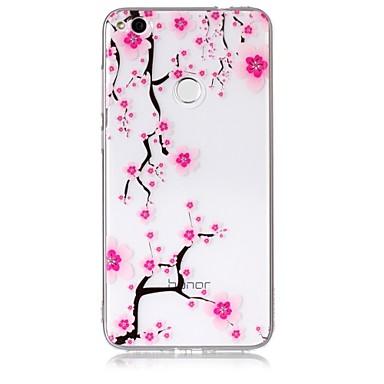 Caz pentru huawei p10 p10 litiu caz acoperi prun floare model simt lac accelerator de mare penetrare tpu material caz telefon pentru