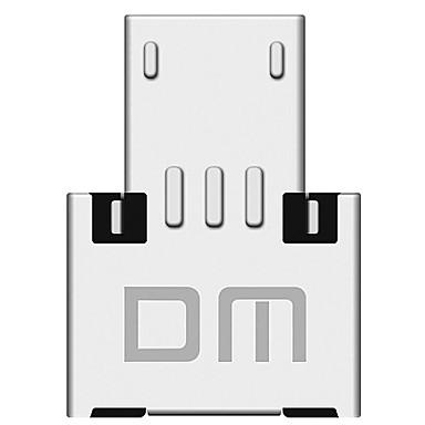 USB 2.0 Micro USB Type-C OTG Adapter Voor Samsung Huawei Xiaomi 1.5 cm Aluminium