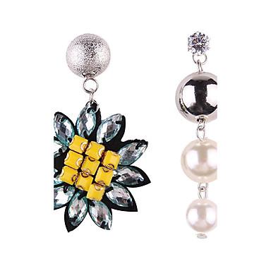 Pentru femei Nepotrivirea Perle Cercei Picătură - Personalizat Nepotrivirea Modă Alb Geometric Shape cercei Pentru Petrecere Absolvire