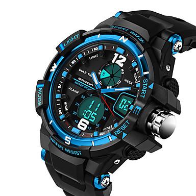 SANDA Herrn Sportuhr Militäruhr Modeuhr Armbanduhr Einzigartige kreative Uhr Armbanduhren für den Alltag digital Kalender Wasserdicht