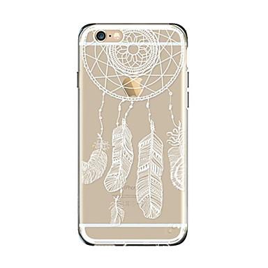 Maska Pentru Apple iPhone 7 Plus iPhone 7 Transparent Model Capac Spate Prinzător de vise Moale TPU pentru iPhone 7 Plus iPhone 7 iPhone