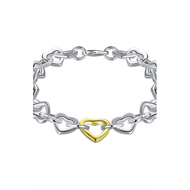 Damen Ketten- & Glieder-Armbänder Bettelarmbänder Schmuck Basis nette Art Handgemacht Gothic Erste Schmuck Luxus-Schmuck Simple Style