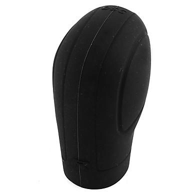 voordelige Autostoelcovers & Accessoires-Zwarte zachte silicone nonslip auto shift knop versnelling stick cover bescherming