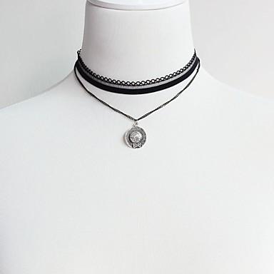 Pentru femei Geometric Shape Clasic Modă Coliere Choker Bijuterii Aliaj Coliere Choker . Zilnic Serată Scenă