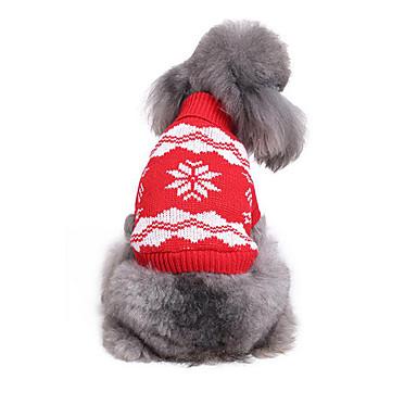 Hond Truien Hondenkleding Casual/Dagelijks Sneeuwvlok Kostuum Voor huisdieren