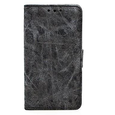 غطاء من أجل Samsung Galaxy S8 Plus S8 حامل البطاقات محفظة مع حامل قلب غطاء كامل للجسم لون الصلبة قاسي جلد PU إلى S8 Plus S8 S7 edge S7