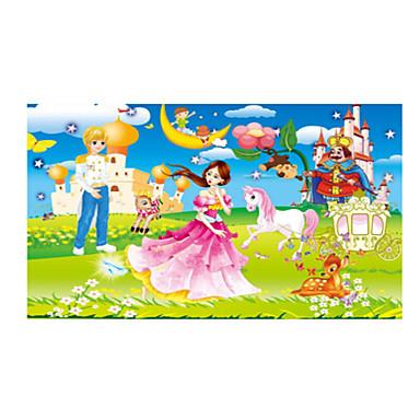 Holzpuzzle Bildungsspielsachen Sonne Pferd Zeichentrick Blume Frucht Holz Anime Zeichentrick Unisex Geschenk