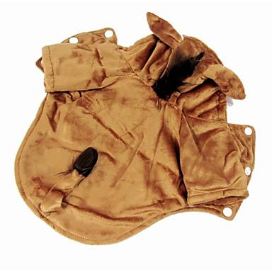 Câine Costume Îmbrăcăminte Câini Cosplay Animal Kaki Costume Pentru animale de companie