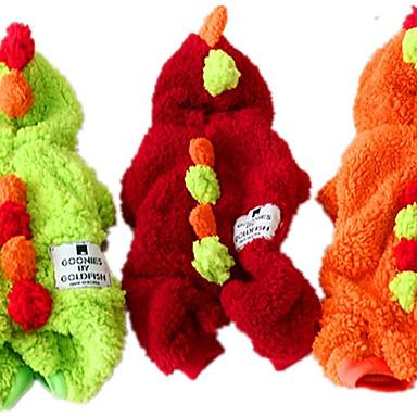 Hund Kostüme Hundekleidung Lässig/Alltäglich Solide Orange Rot Grün Kostüm Für Haustiere