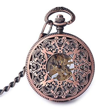 Pentru femei Ceas de buzunar Mecanism automat Aliaj Bandă Roz auriu