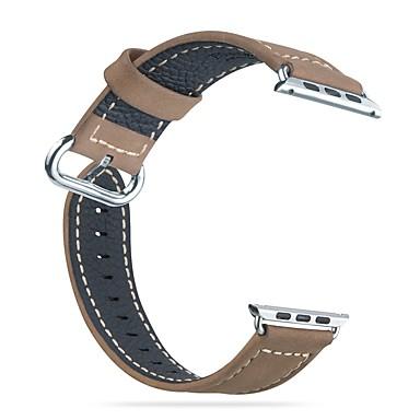 Uita-Band pentru Apple Watch Series 3 / 2 / 1 Apple Catarama Clasica Piele Autentică Curea de Încheietură