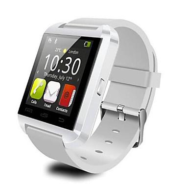 Χαμηλού Κόστους Ανδρικά ρολόγια-u8 smartwatch ρολόι bluetooth απάντηση και να καλέσετε το τηλέφωνο passometer λειτουργία συναγερμού διαρρήκτης