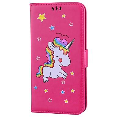 Fantasia iPhone di disegno iPhone Con Integrale Custodia magnetica Plus Per Unicorno Apple supporto 7 chiusura 7 06180865 carte Con Porta credito zXECxaqB