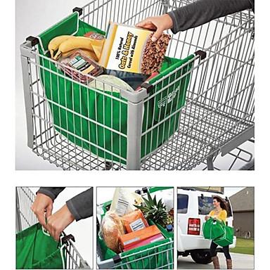 sac de cumpărături pliabil tote reutilizabile mari cărucioare supermarket pungi de mare capacitate