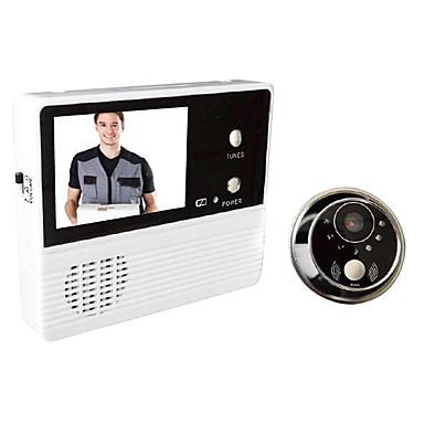 gw601b - 2bh 3v / 0.6w 2.4 인치 모니터 가정용 도어 인터폰 초인종 비디오 도어 시스템