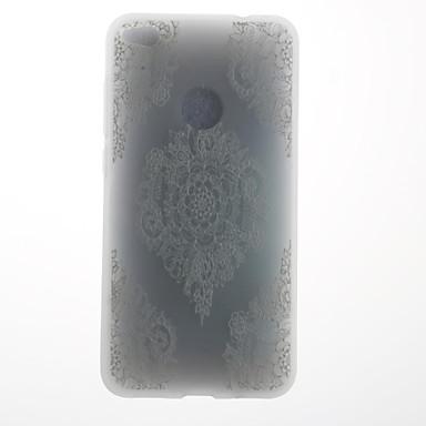 Hülle Für Huawei Muster Rückseitenabdeckung Lace Printing Weich TPU für Huawei P10 Plus Huawei P10 Lite Huawei P10 Huawei P9 Huawei P9