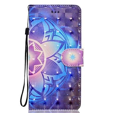 hoesje Voor Samsung Galaxy S8 Plus S8 Portemonnee Kaarthouder met standaard Flip Patroon Magnetisch Volledige behuizing Mandala Hard