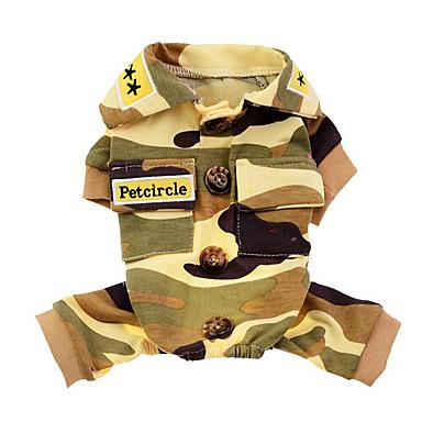 كلب ازياء تنكرية ملابس الكلاب الكوسبلاي Police/Military