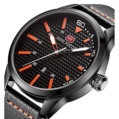 Bărbați Quartz Ceas de Mână Ceas Militar  Ceas Sport Calendar Piele Autentică Bandă Charm Lux Creative Casual Unic Watch Creative Elegant