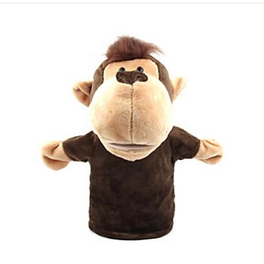 Păpuși de Degete Λούτρινα παιχνίδια Jucarii Rață Cai Leu Oaie Zebră Maimuţă Animale Stofă de Bumbac Adulți Bucăți