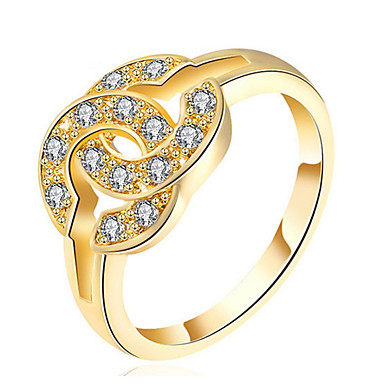 Pentru femei Band Ring Cristal Personalizat Lux Clasic De Bază Sexy Iubire Elegant Cute Stil Modă Cristal Aliaj Geometric Shape Bijuterii