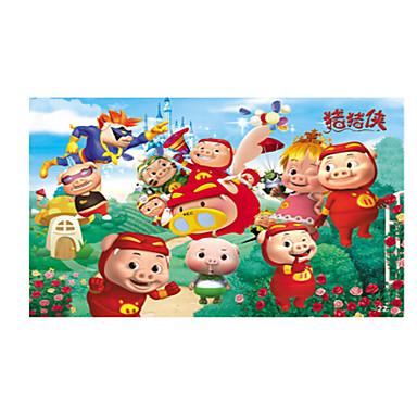 Jucării Educaționale Puzzle Puzzle Lemn Jucarii Porc Friut Unisex Bucăți