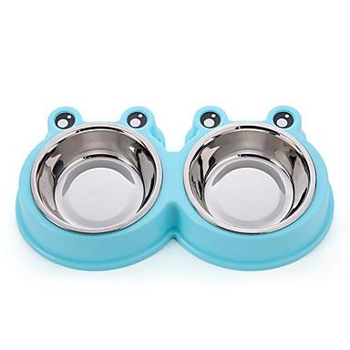 Pisici Câine Boluri & Sticle de Apă Animale de Companie  Castroane & HrănireaImpermeabil Ajustabile/Retractabil Portabil Faţă-Verso