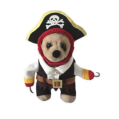 Câine Costume Îmbrăcăminte Câini Cowboy Blugi Maro