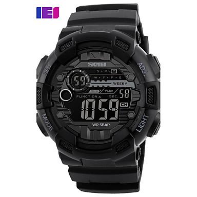 Bărbați Quartz Piloane de Menținut Carnea Ceas digital Ceas de Mână Uita-te inteligent Ceas Militar  Ceas Schelet Ceas Sport Chineză