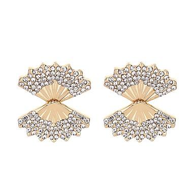 Pentru femei Cercei Stud imitație de diamant Clasic La modă Aliaj Geometric Shape Bijuterii Pentru Petrecere Zilnic Serată Scenă