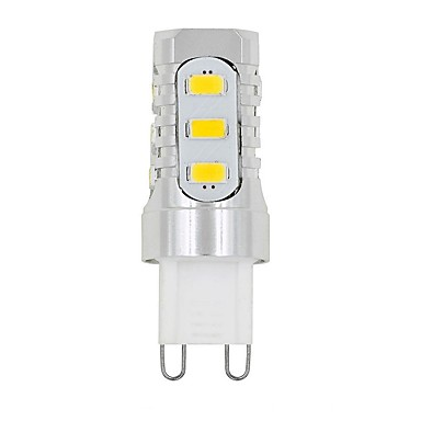 3W G9 2-pins LED-lampen T 15 LEDs SMD 5730 Decoratief Warm wit Wit 480-700lm 3000/6000K AC220 AC100-240V