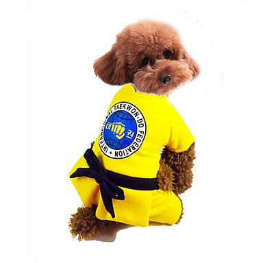 Câine Γιλέκο Îmbrăcăminte Câini Cald Sport Desene Animate Costume Pentru animale de companie