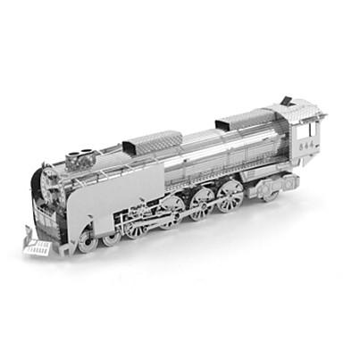 قطع تركيب3D تركيب تركيب معدني Train 3D اصنع بنفسك الفولاذ المقاوم للصدأ معدن للجنسين هدية