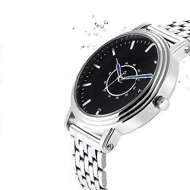 YAZOLE Bărbați Ceas Elegant Ceas Casual Ceas de Mână Chineză Quartz Aliaj Bandă Casual Argint