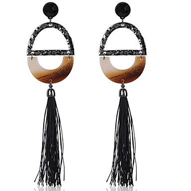Damen Tropfen-Ohrringe Vintage individualisiert überdimensional Aleación Ovale Form Schmuck Für Sonstiges Festtage Ausgehen