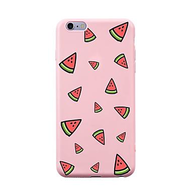 Pentru iphone 7 plus 7 carcasă caz acoperă spate caz caz fructe soft tpu pentru iphone 6s plus 6 plus 6s 6 5s 5 se