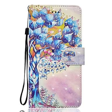 غطاء من أجل هواوي P9 لايت Huawei هواوي P8 لايت حامل البطاقات محفظة مع حامل غطاء كامل للجسم شجرة قاسي جلد PU إلى P10 Lite P10 Huawei P9