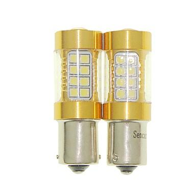Sencart 2pcs bau15s 1056 py21w ampoule clignotante led voiture arrière tourner les ampoules inverses (blanc / rouge / bleu / blanc chaud)