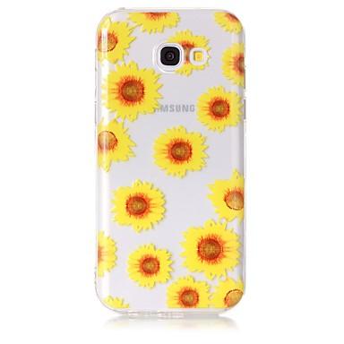 hoesje Voor Samsung Galaxy A5(2017) A3(2017) Transparant Patroon Achterkant Bloem Zacht TPU voor A3 (2017) A5 (2017) A5(2016) A3(2016)