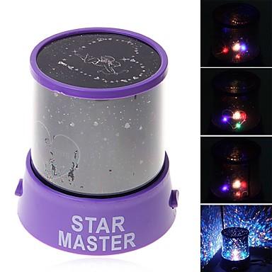 Luminile de noapte ale stelelor Iluminat LED Lampa de proiecție Jucarii Romantic 1 Bucăți An Nou Zuia Copiilor Cadou