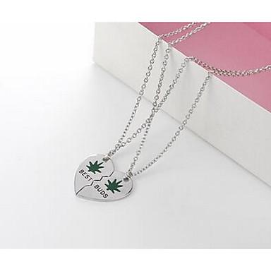 Dames Hangertjes ketting Sieraden Legering Basisontwerp Liefde Modieus Sieraden Voor Verjaardag Dagelijks Causaal