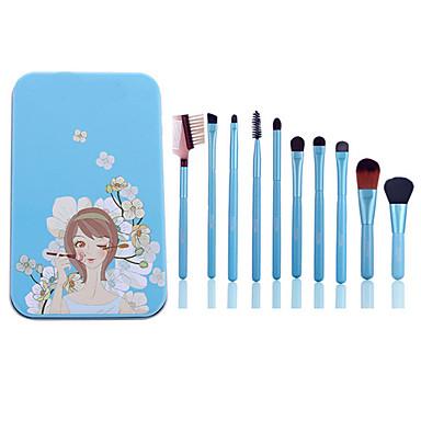 1set Brush Sets Synthetisch haar Beukenhout Lady