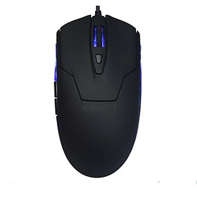 Birou cu mouse-ul pur alb și negru