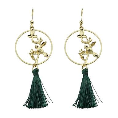 Pentru femei Cercei Picătură Bijuterii Ciucure De Bază Modă Aliaj Geometric Shape Bijuterii Auriu Cadou Zilnic Casual Costum de bijuterii